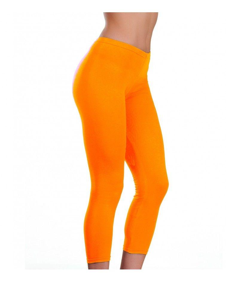 Collant under knee, orange