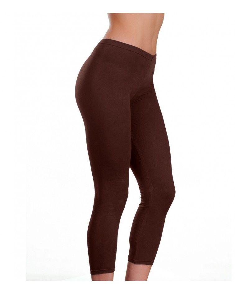 Collant under knee, brown