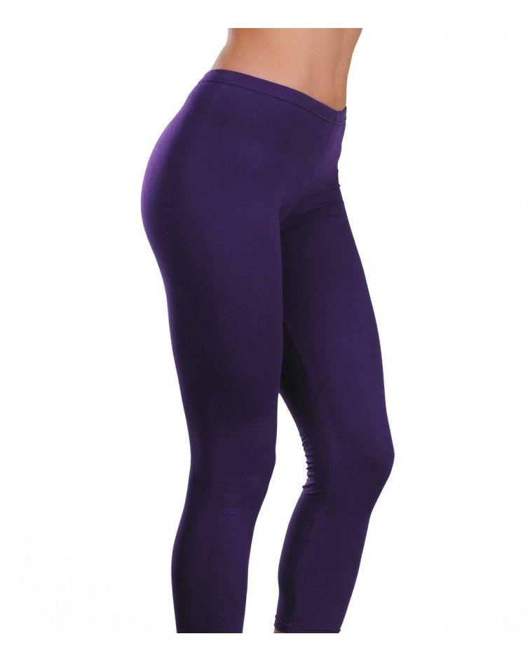 Collant under knee, purple