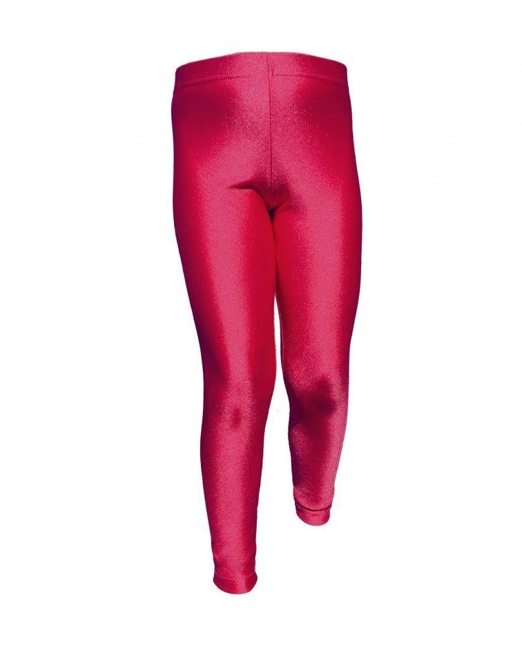 Γυναικείο Κολάν, γυαλιστερό, κόκκινο