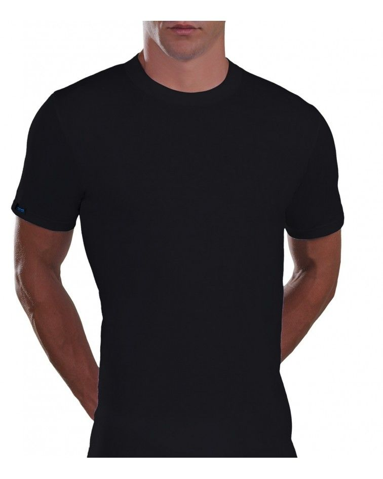 T-Shirt, Cotton, black