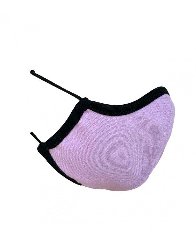 Βαμβακερή Μάσκα με λάστιχο, ροζ