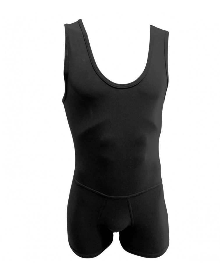 Men Bodysuit, Short Sleeve