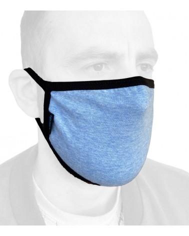 Bαμβακερή Μάσκα γενικής χρήσης, σιέλ