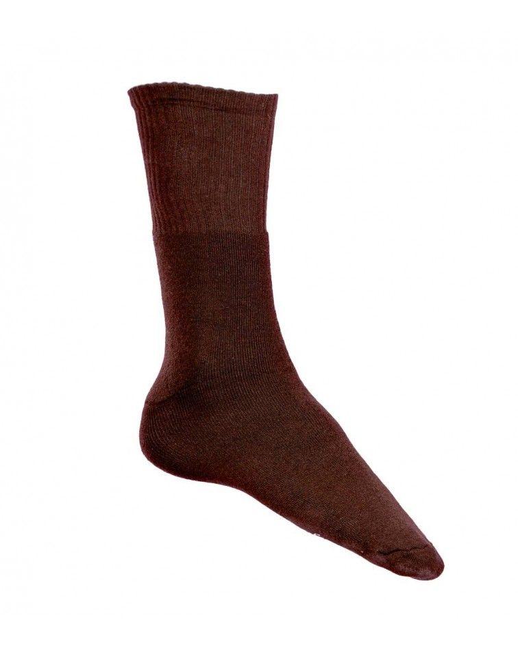 Κάλτσα Χωρίς Λάστιχο, καφέ