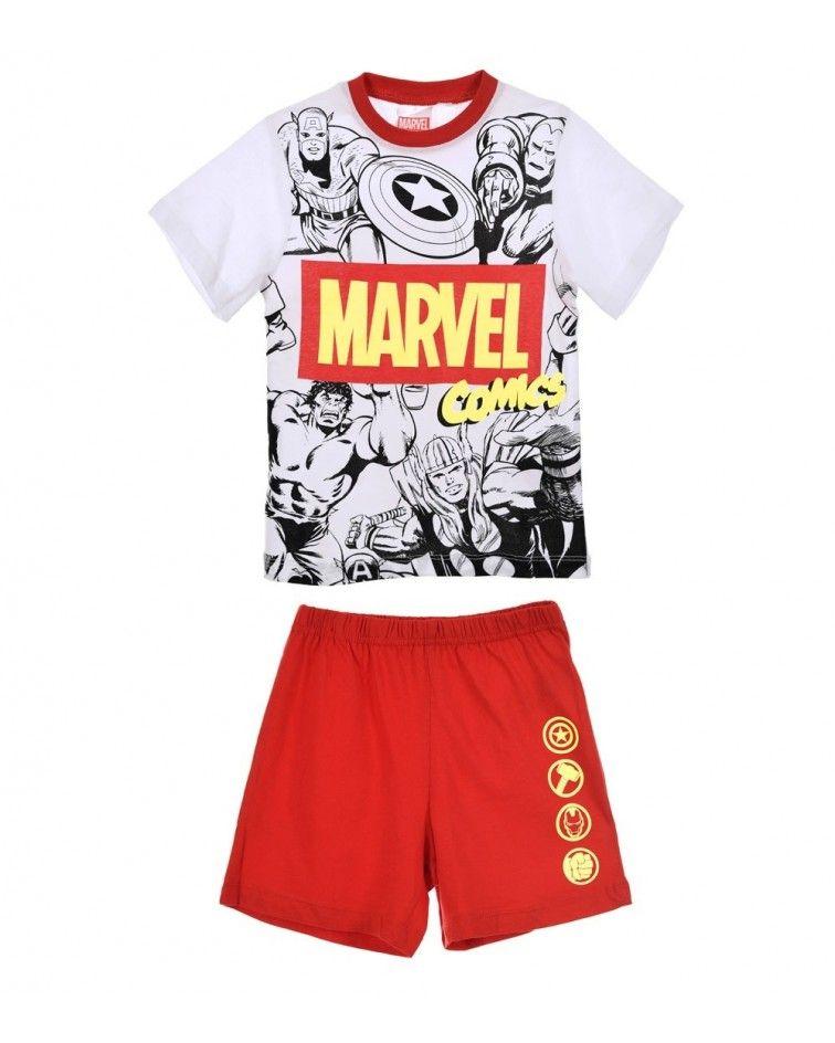 Πιτζάμα Αγοριών Super Heroes, κόκκινο