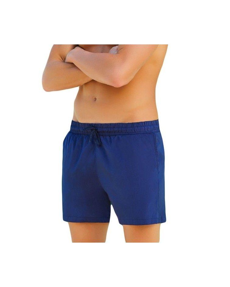 Men swimwear sorts, red