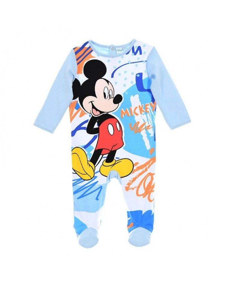 Βρεφικό Κορμάκι Mickey Mouse, σιελ