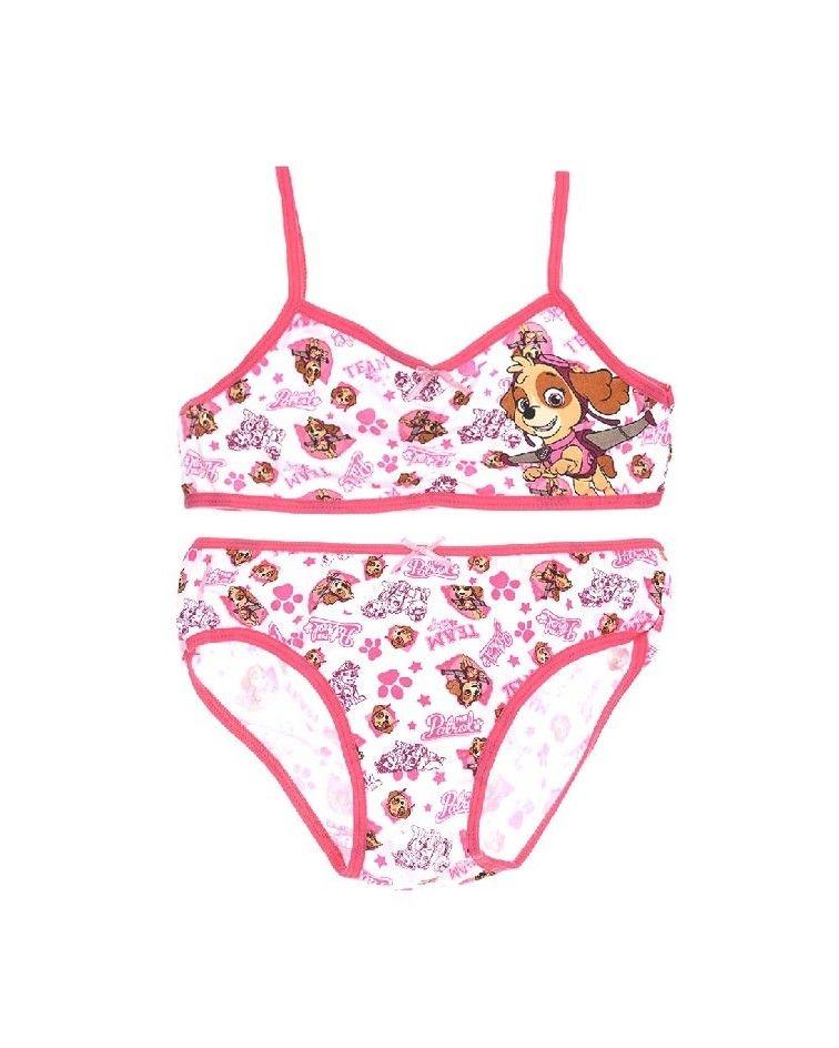 Girls SET burstier-panty, Paw Patrol , purple