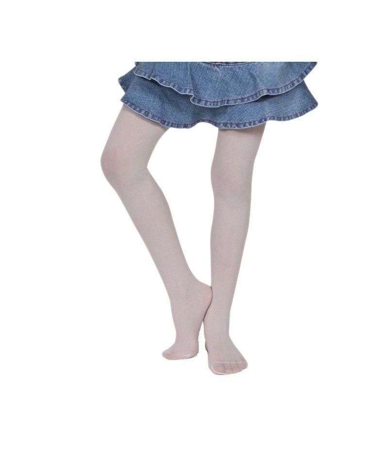 IDER Παιδκό Καλσόν Silia Mousse 40DEN, λευκό