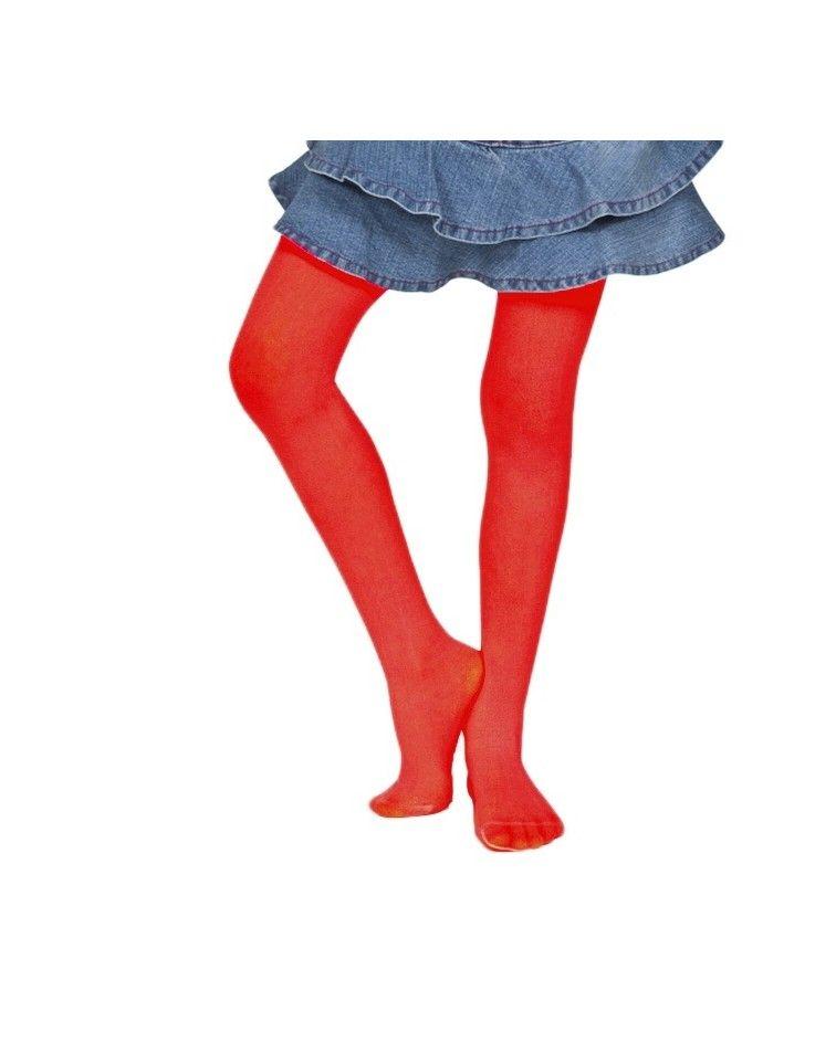 IDER Παιδκό Καλσόν Silia Mousse 40DEN, κόκκινο