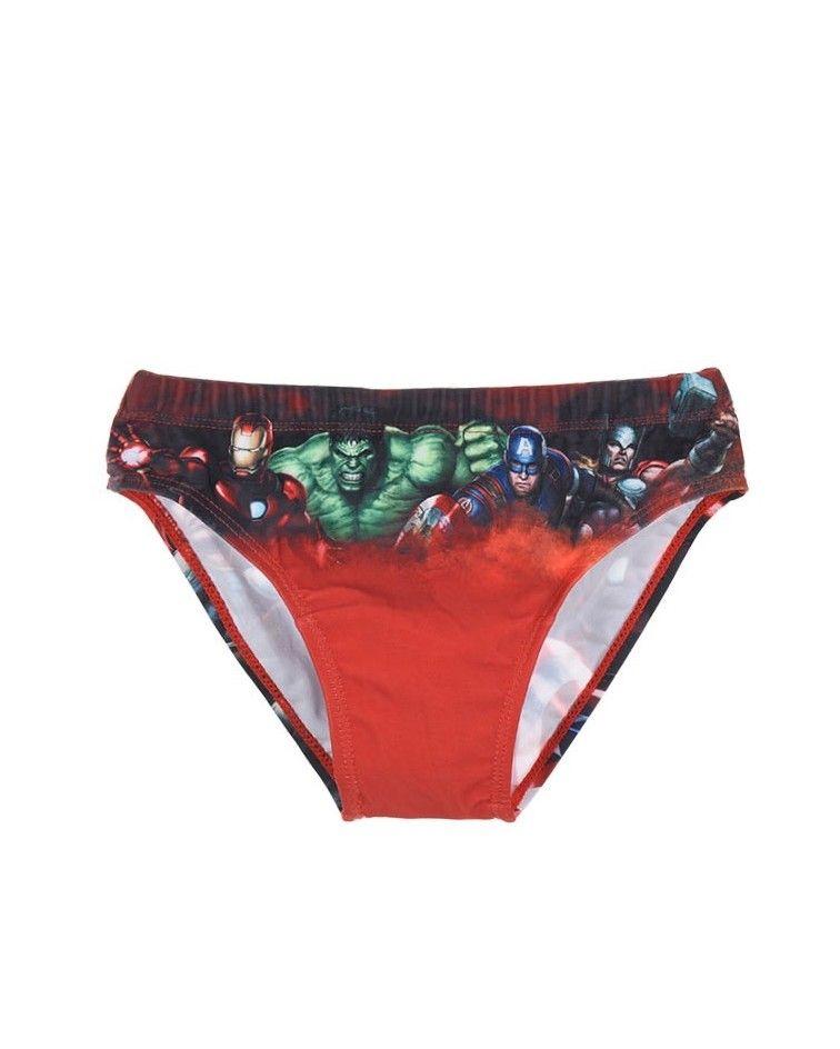 Παιδικό Μαγιό, Avengers, κόκκινο