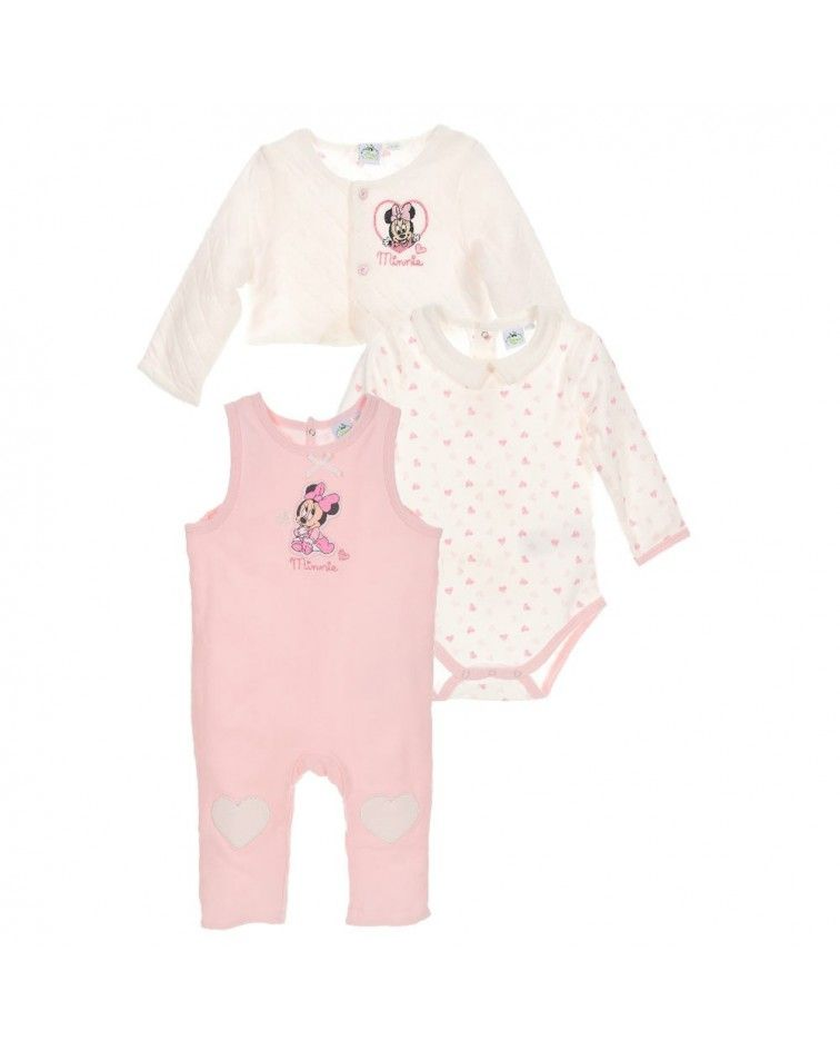 Disney Baby Minnie Infant Set 3 pieces- 1