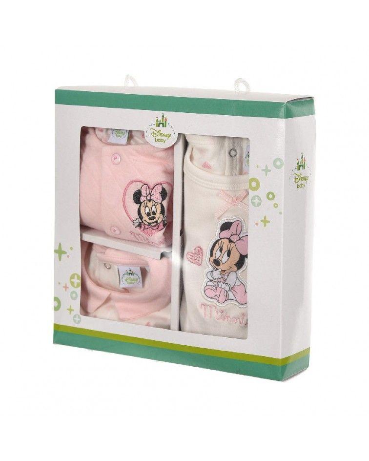 Disney Baby minnie Βρεφικό Σετ 3 τεμάχιων- 3