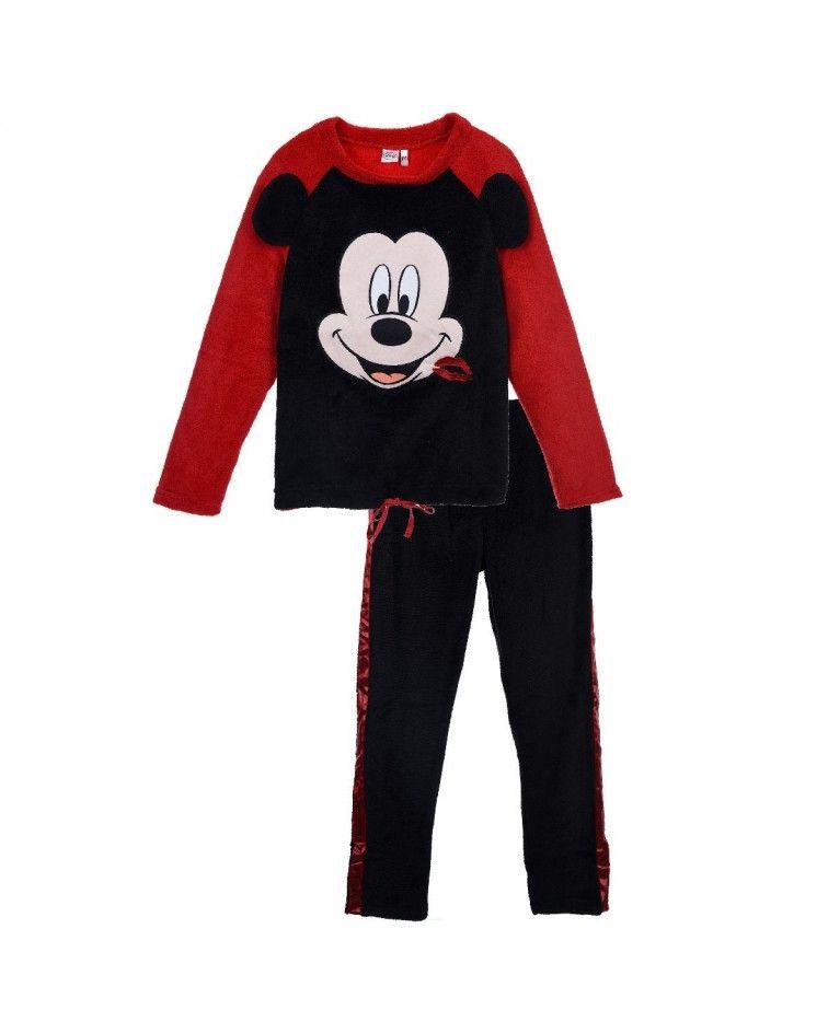 Γυναικεία Πιτζάμα Mickey κόκκινο