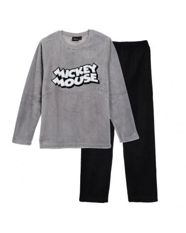 Ανδρική Πιτζάμα Mickey Mouse, γκρι