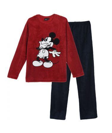 Ανδρική Πιτζάμα Mickey Mouse, κόκκινο
