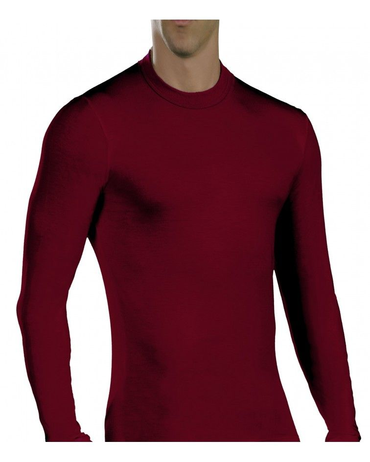 Men, Long Sleeve, elastic, Viscose, chery