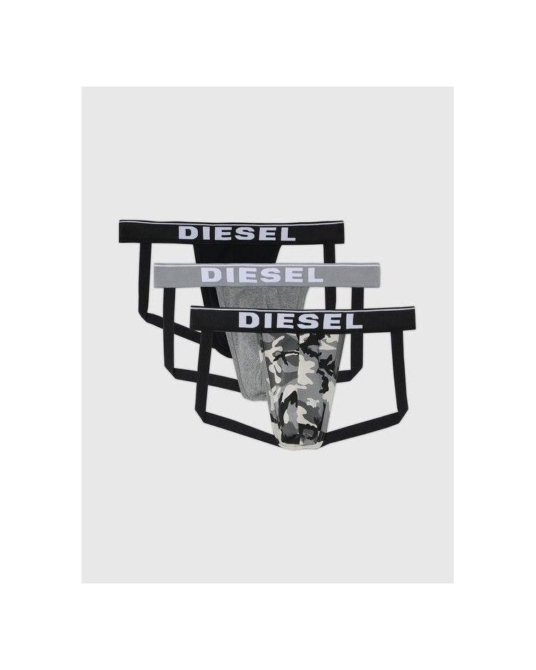 DIESEL Men Jockstrap, 3pack