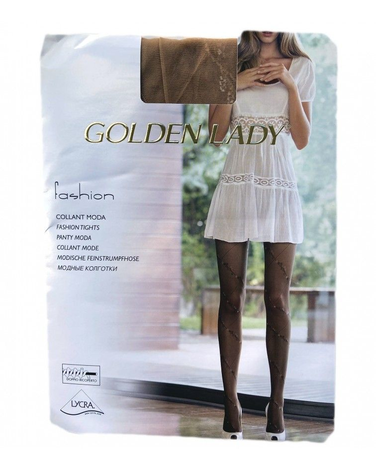 Golden Lady Golden Καλτσόν- 4