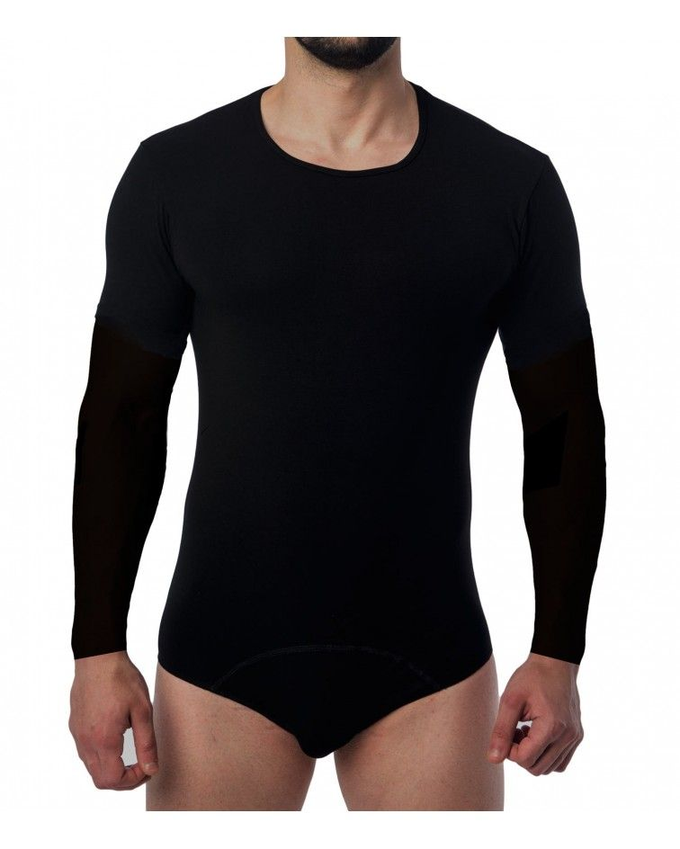 Men Bodysuit, Long Sleeve