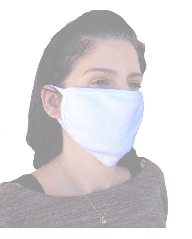 Cotton reusable protection Maskprofessional, white