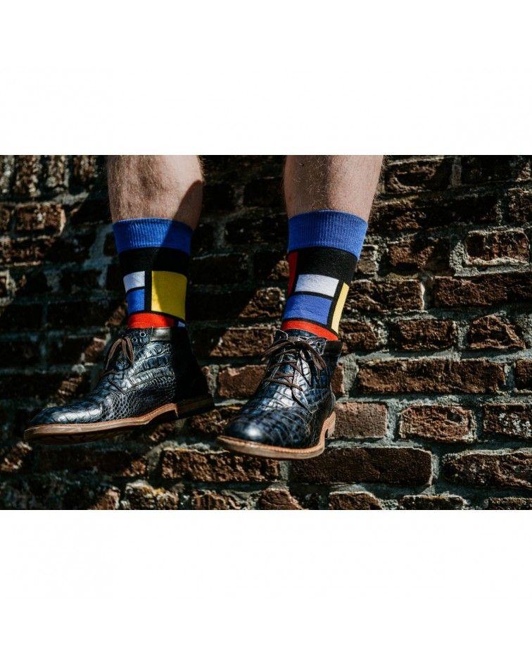Home  Men Socks Mondriaan {PRODUCT_REFERENCE} - 3