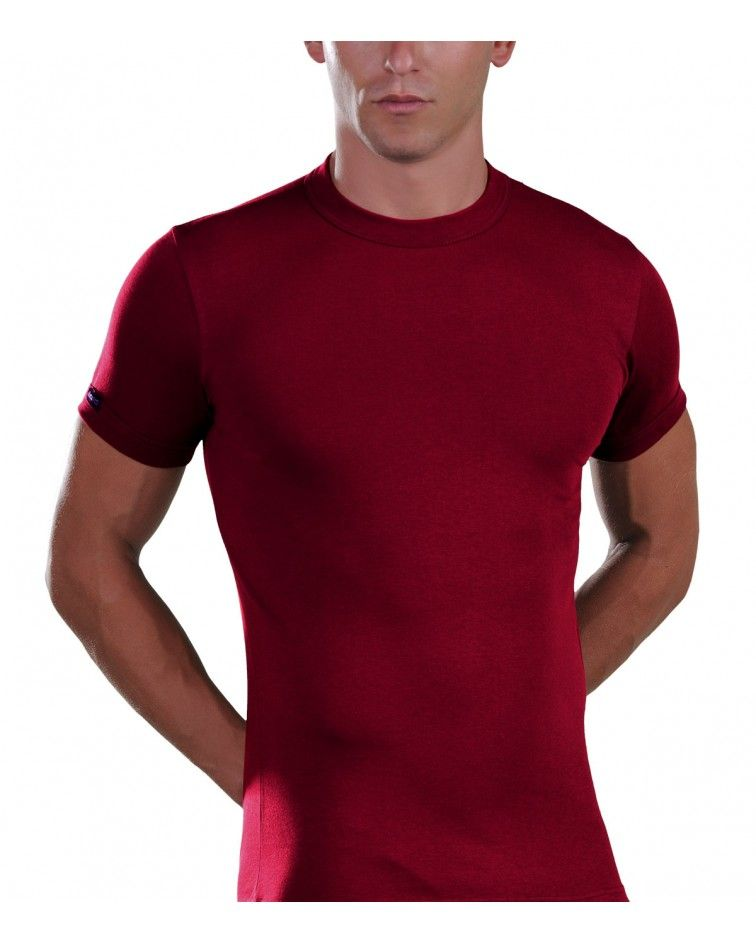 Crew neck Lord Offers T-shirt Viscose 380-3