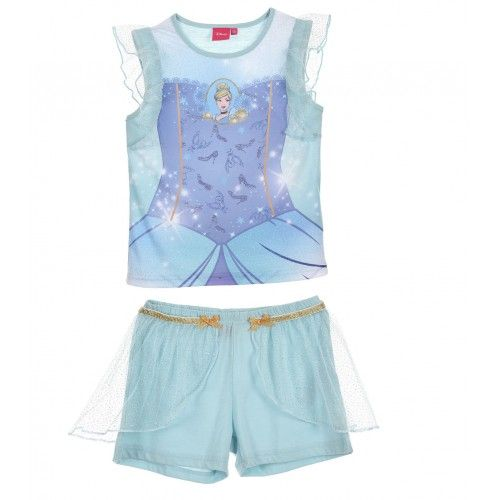 Pyjama Girls Disney Children Pyjama Princess Disney SUET2126-1