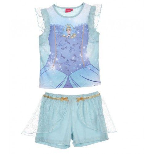 Παιδική Πιτζάμα Princess Disney, σιέλ