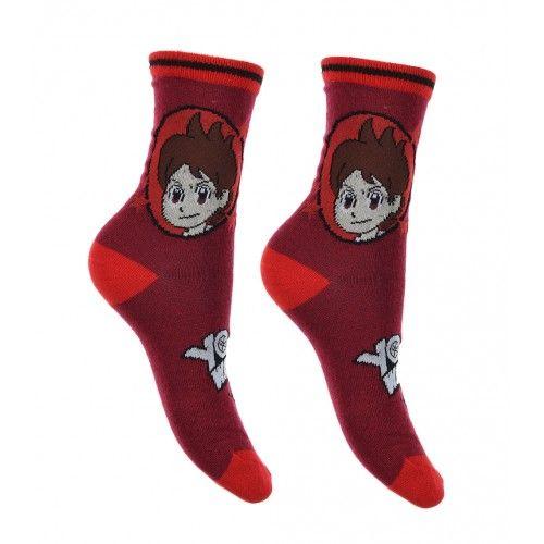 Κάλτσες YO-KAI ΚΟΚΚΙΝΟ