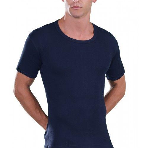 Short Sleeve Lord Teens Neck T-Shirt, Khaki 230Khaki-1-2