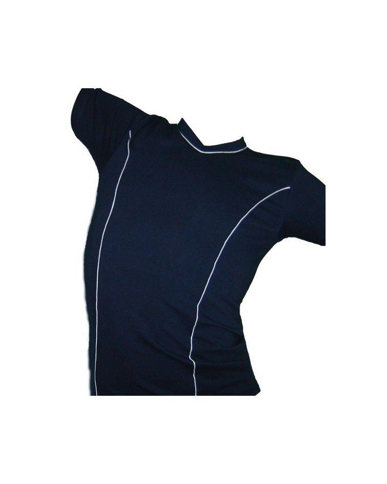 T-Shirt, V, Stripe, Small-Medium