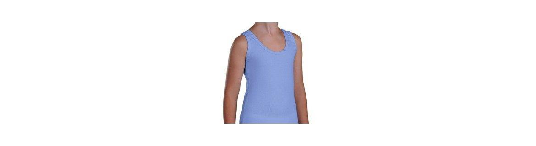 boys shoulder strap and sleeveless T-Shirts