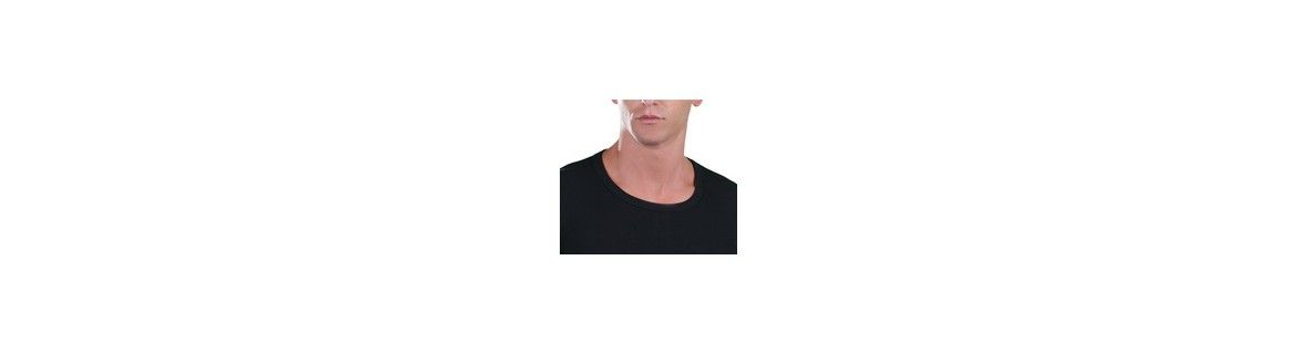 Men T-Shirt, open neck