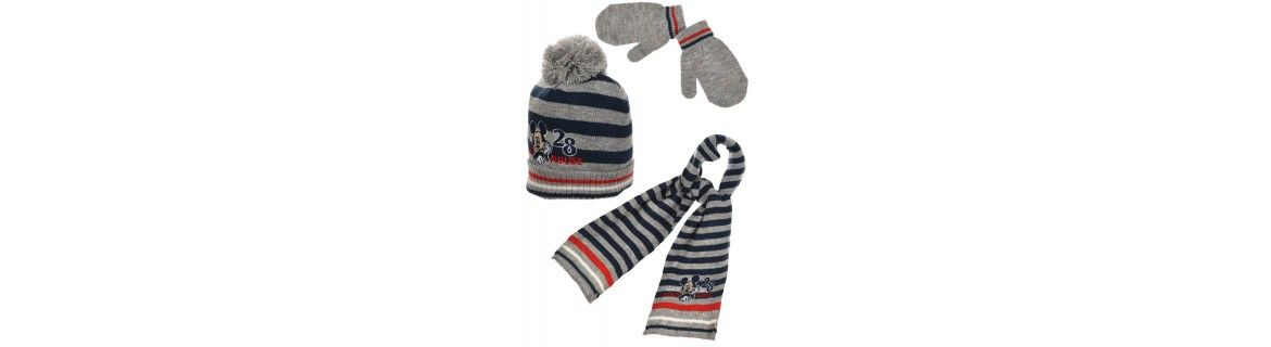 Infant Accessories, scarf, gloves